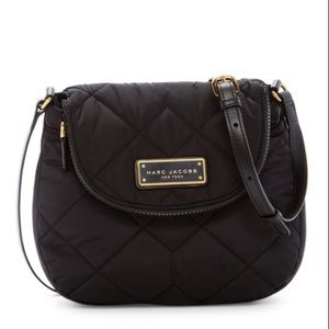Marc Jacobs Quilted Nylon Mini Messenger Bag GUC